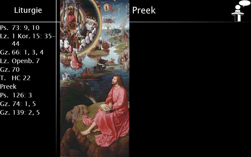 Preek [Dia 7] Ze aanbidden de Here en ze loven Hem.